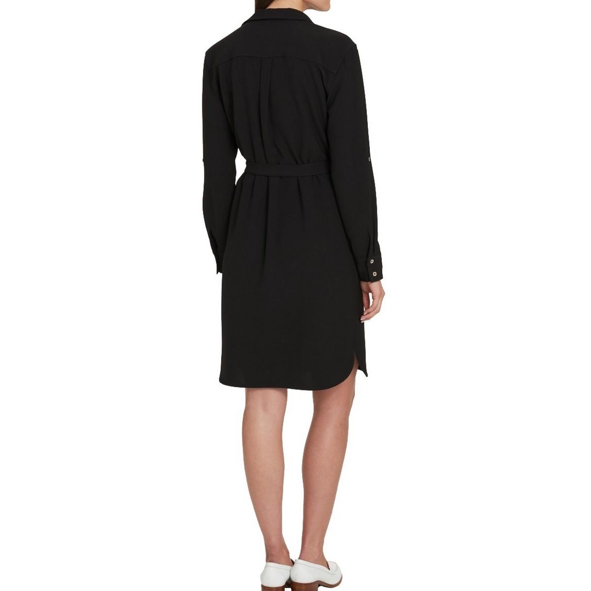 TOMMY HILFIGER NEW Women/'s Collared Button Down Shirt Dress TEDO