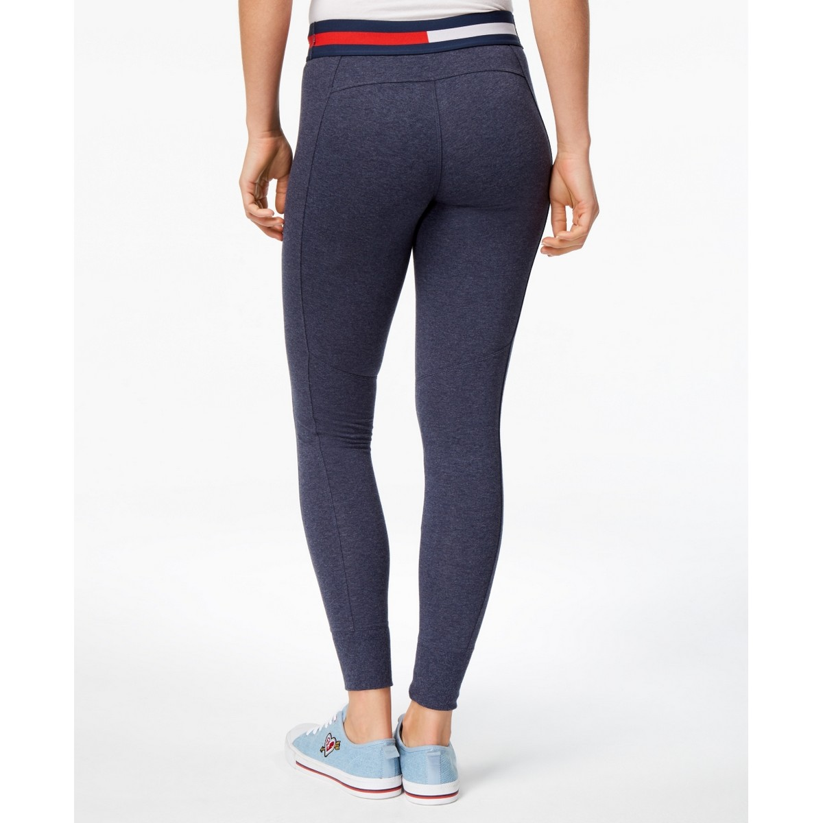 TOMMY HILFIGER NEW Women/'s Sport Logo Leggings TEDO