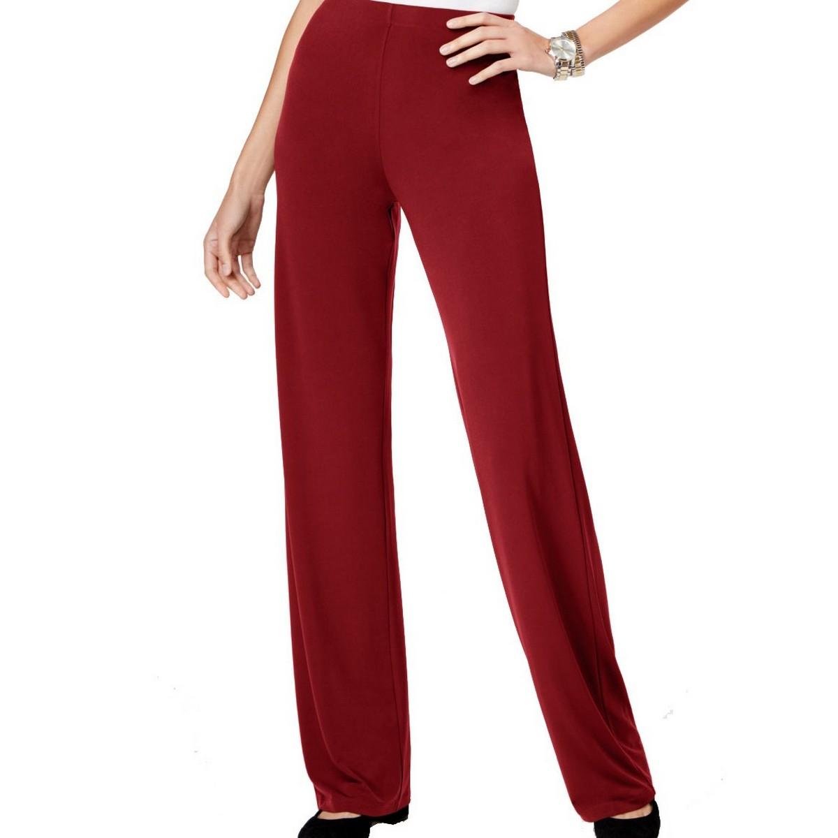 ALFANI NEW Women/'s Plus Size Floral Wide Leg Pull On Palazzo Pants TEDO