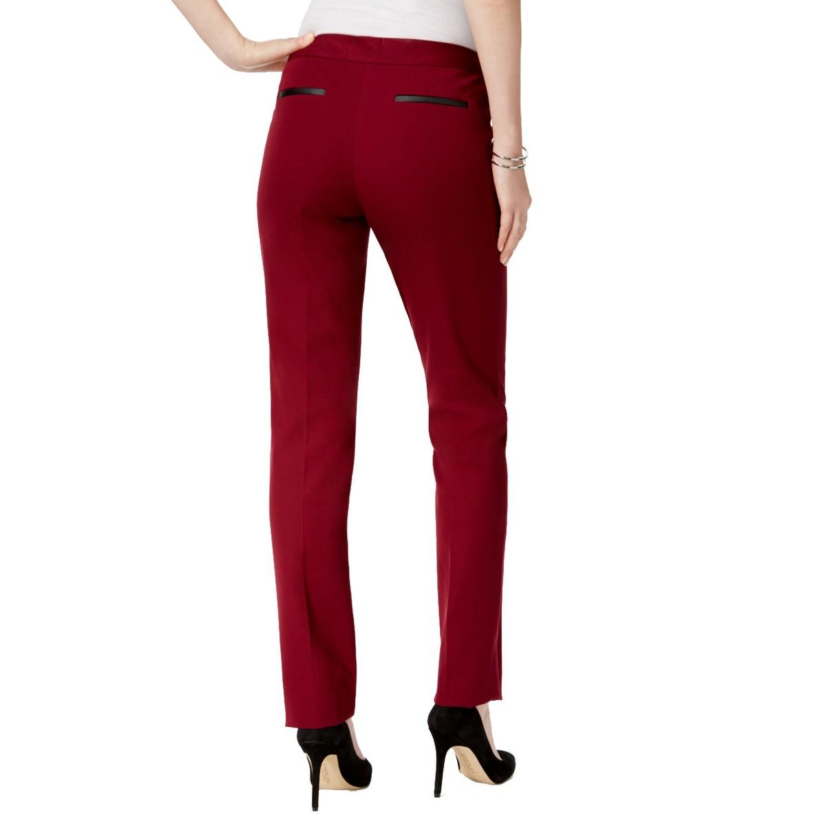 ALFANI-NEW-Women-039-s-Tummy-Control-Short-Length-Slim-Leg-Pants-TEDO thumbnail 6