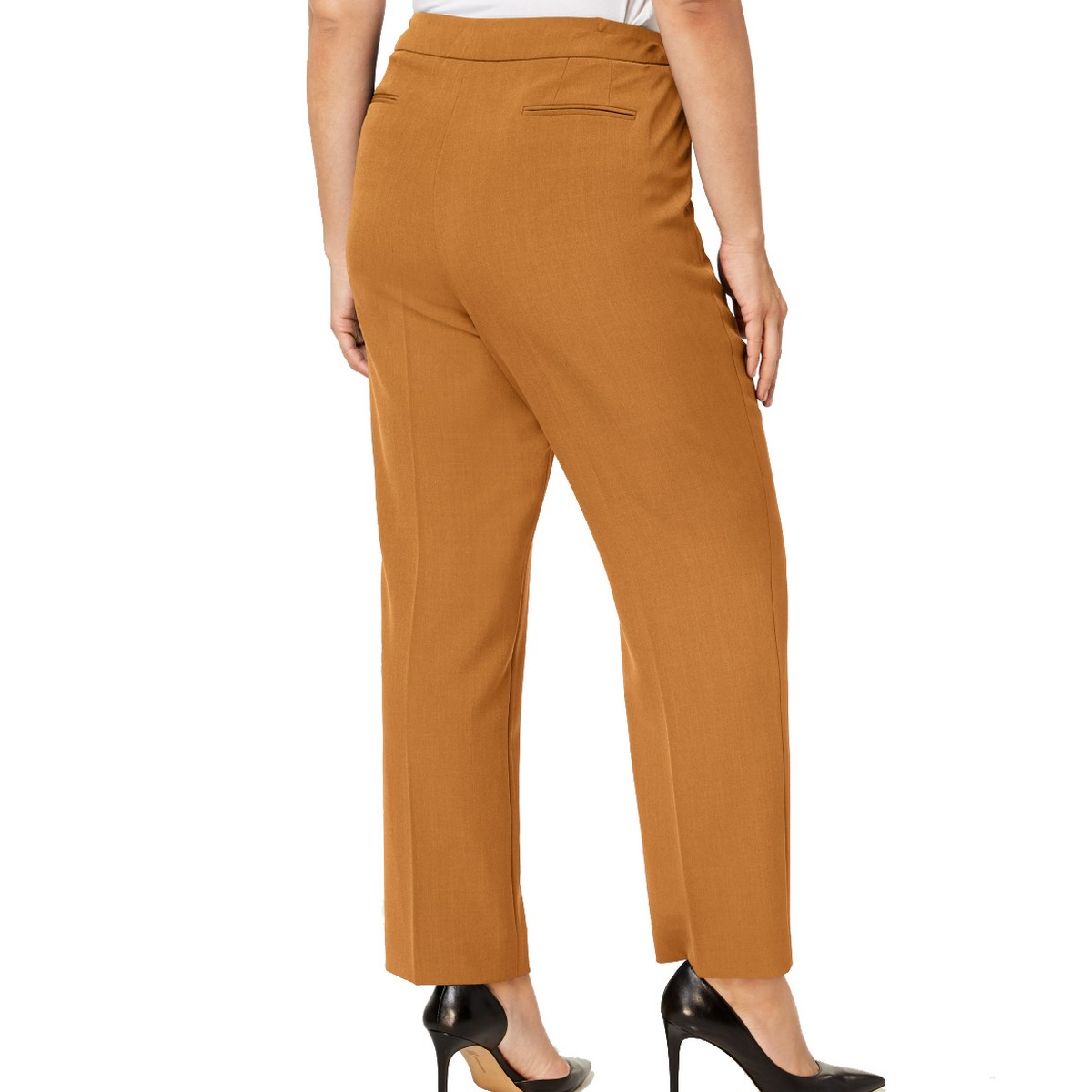 ANNE-KLEIN-NEW-Women-039-s-Plus-Size-Extended-tab-Dress-Pants-TEDO thumbnail 8