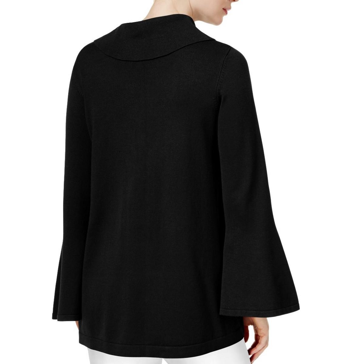 ALFANI-NEW-Women-039-s-Bell-sleeve-Cowl-Neck-Sweater-Top-TEDO thumbnail 6