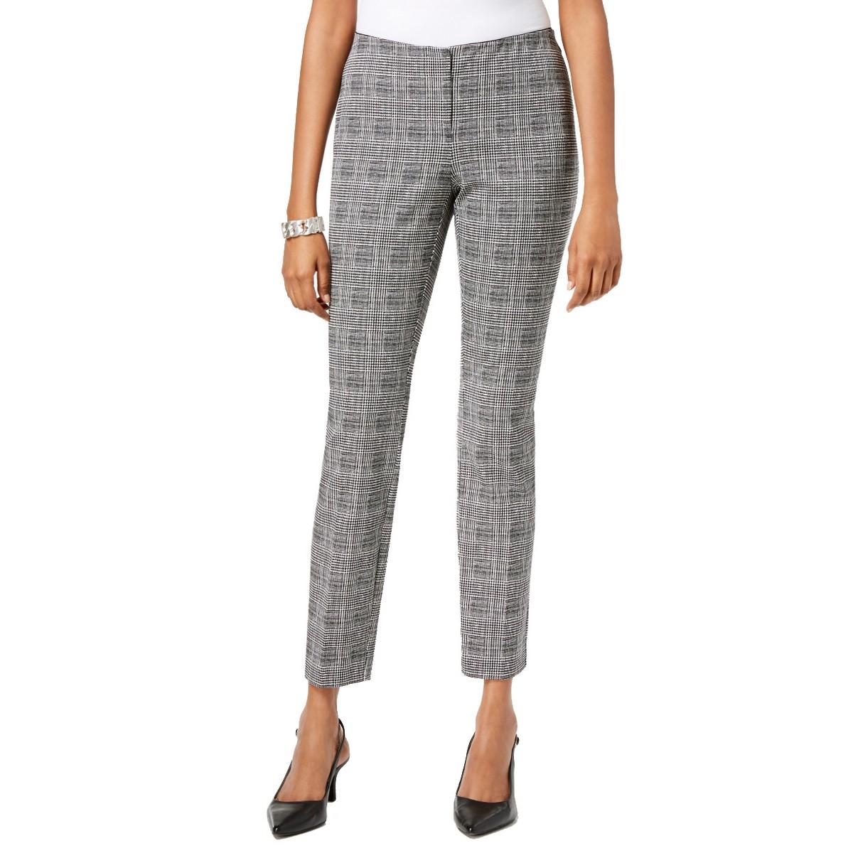 ALFANI NEW Women/'s Comfort Waist Ankle Cropped Skinny Pants TEDO