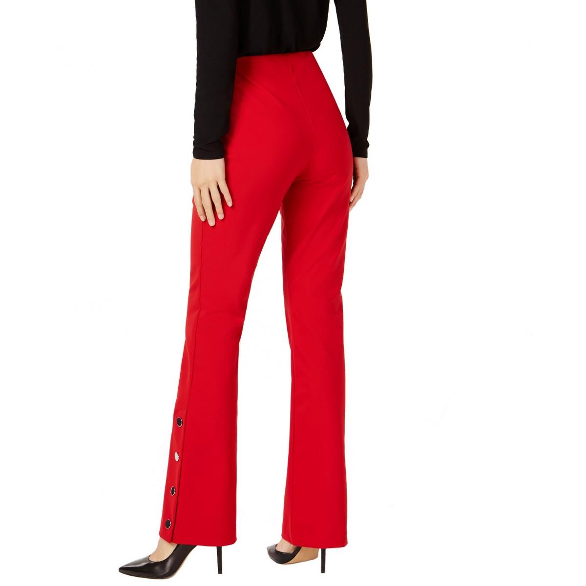 INC-Women-039-s-Embellished-Boot-Leg-Regular-Mid-Rise-Pull-On-Casual-Pants-TEDO thumbnail 4