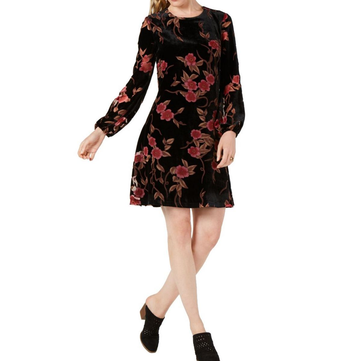 ALFANI NEW Women/'s Teal Pleat-front Circle Print A-line Dress 14 TEDO
