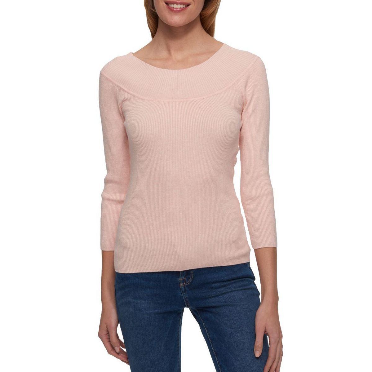 TOMMY HILFIGER NEW Women/'s Cotton Scoop-neck T-Shirt Top TEDO